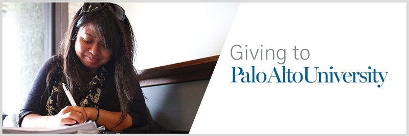 Giving to Palo Alto University